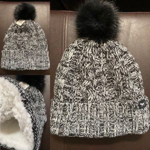 NWT Victoria's Secret Sherpa Lined Beanie New